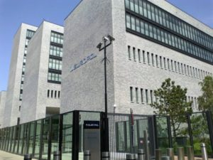 Europol hovedkvarteret i den hollandske by Haag. Foto: OSeveno / Wikimedia Commons.