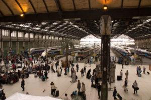 EU's planer om øget liberalisering af jernbaner og togdrift møder bekymring blandt transportarbejderne. Foto: Poudou99 / Wikimedia Commons.