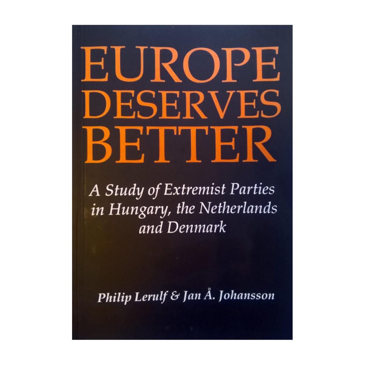 Bøger: Europe Deserves Better