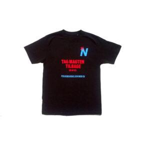 T-shirt: Tag Magten Tilbage