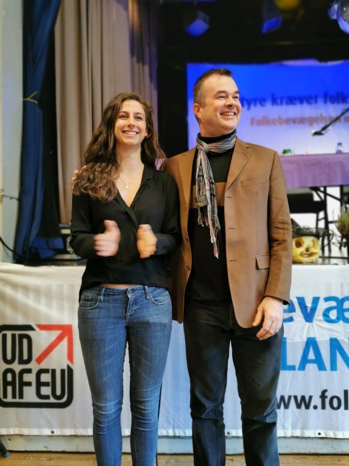 Susanna og Lave på landsmødet