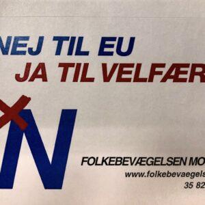NEJ TIL EU – JA TIL VELFÆRD