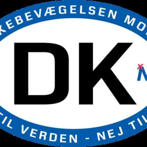 DK-klistermærke Til Bil