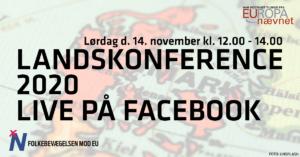 Landskonference 2020 live på Facebook