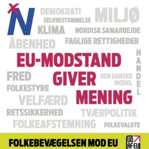Folder: EU-modstand Giver Mening