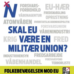 Folder: Skal EU Være En Militær Union?